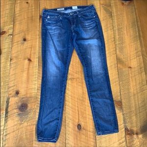 Adriano Goldschmied legging ankle skinny jeans 26